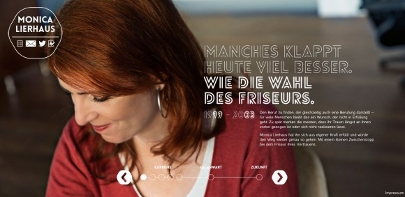 Monica Lierhaus – Website